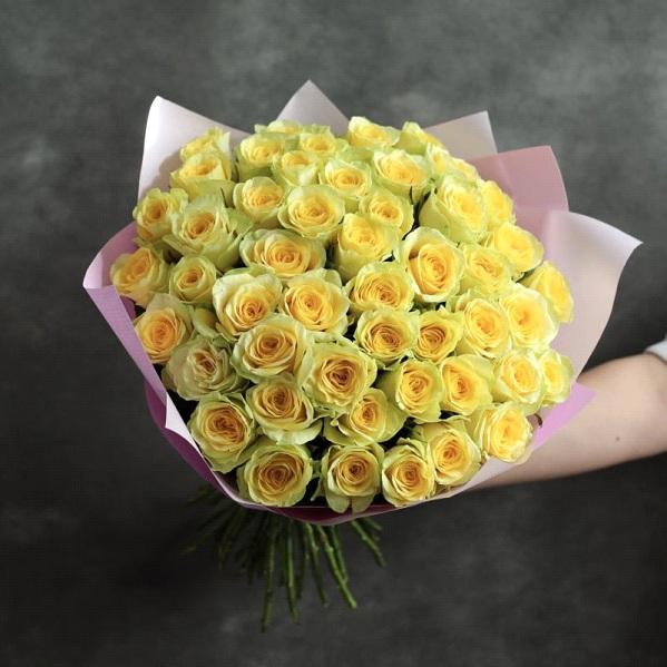 Букет из роз сорт Иллиос